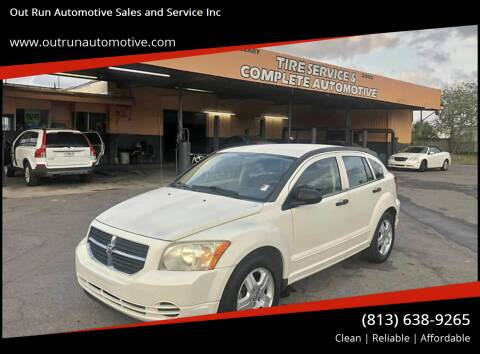 2007 Dodge Caliber for sale at Out Run Automotive Sales and Service Inc in Tampa FL
