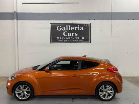 2016 Hyundai Veloster for sale at Galleria Cars in Dallas TX