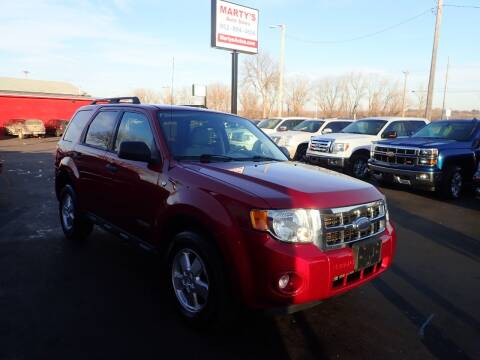 2008 Ford Escape for sale at Marty's Auto Sales in Savage MN