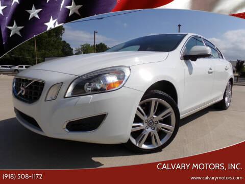 2012 Volvo S60 for sale at Calvary Motors, Inc. in Bixby OK