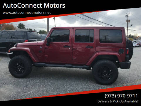 2011 Jeep Wrangler Unlimited for sale at AutoConnect Motors in Kenvil NJ