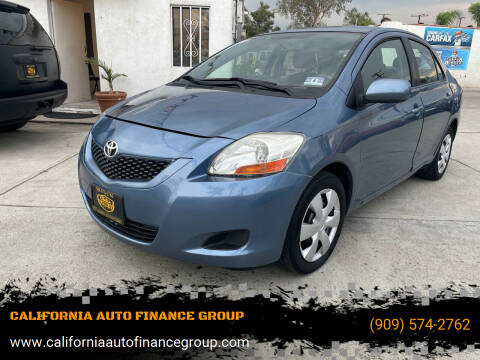 2009 Toyota Yaris for sale at CALIFORNIA AUTO FINANCE GROUP in Fontana CA