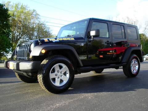 2010 Jeep Wrangler Unlimited for sale at Auto Brite Auto Sales in Perry OH