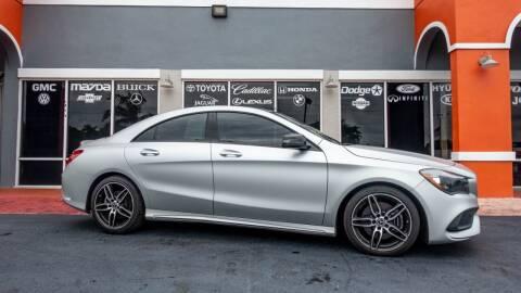 2018 Mercedes-Benz CLA for sale at Car Depot in Miramar FL