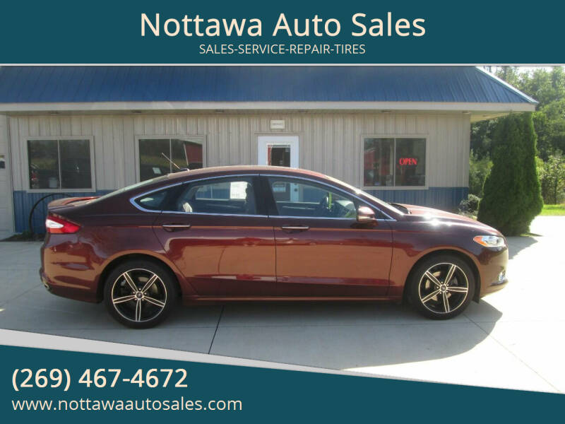 2016 Ford Fusion for sale at Nottawa Auto Sales in Nottawa MI