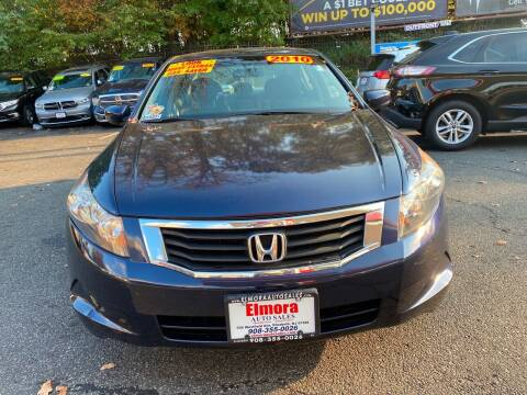 2010 Honda Accord for sale at Elmora Auto Sales in Elizabeth NJ