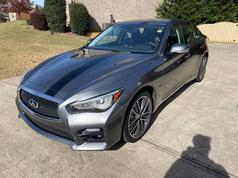 2017 Infiniti Q50 for sale at Atlanta Motor Sales in Loganville GA