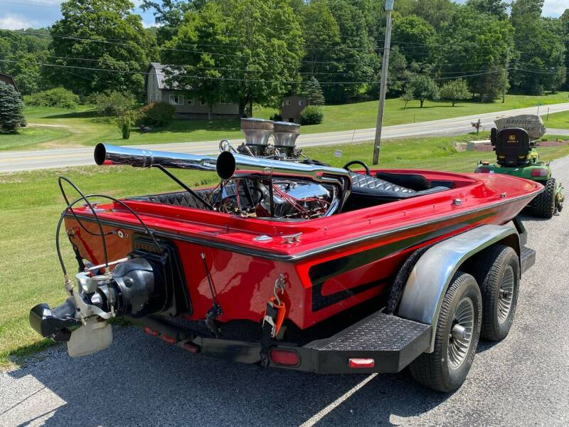 1979 Hawaii Boats 454 Big Block Jet Boat for sale at Griffith Auto Sales in Home PA