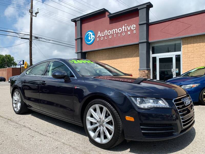 2014 Audi A7 for sale at Automotive Solutions in Louisville KY