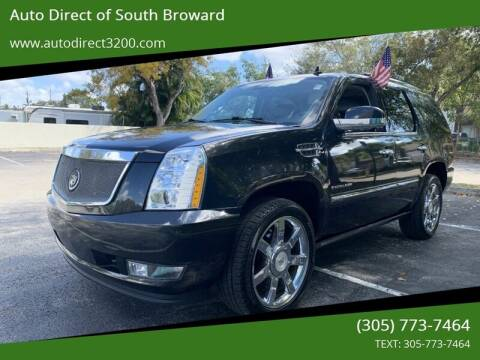 2011 Cadillac Escalade for sale at Auto Direct of South Broward in Miramar FL