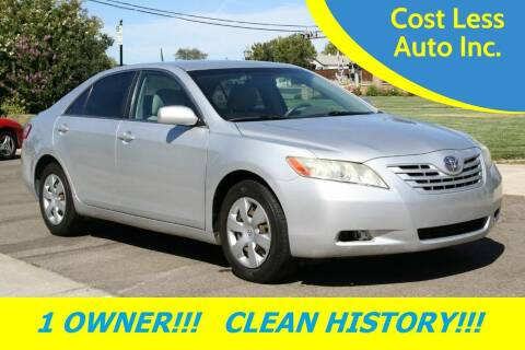 2007 Toyota Camry for sale at Cost Less Auto Inc. in Rocklin CA