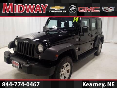 2014 Jeep Wrangler Unlimited for sale at Heath Phillips in Kearney NE