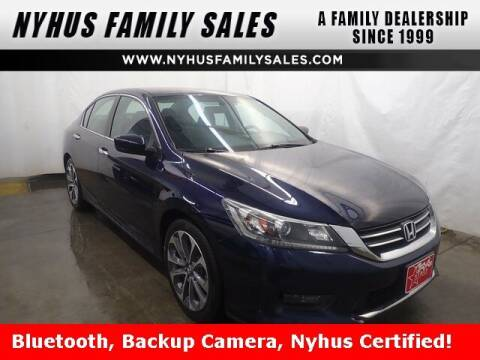 2014 Honda Accord for sale at Nyhus Family Sales in Perham MN