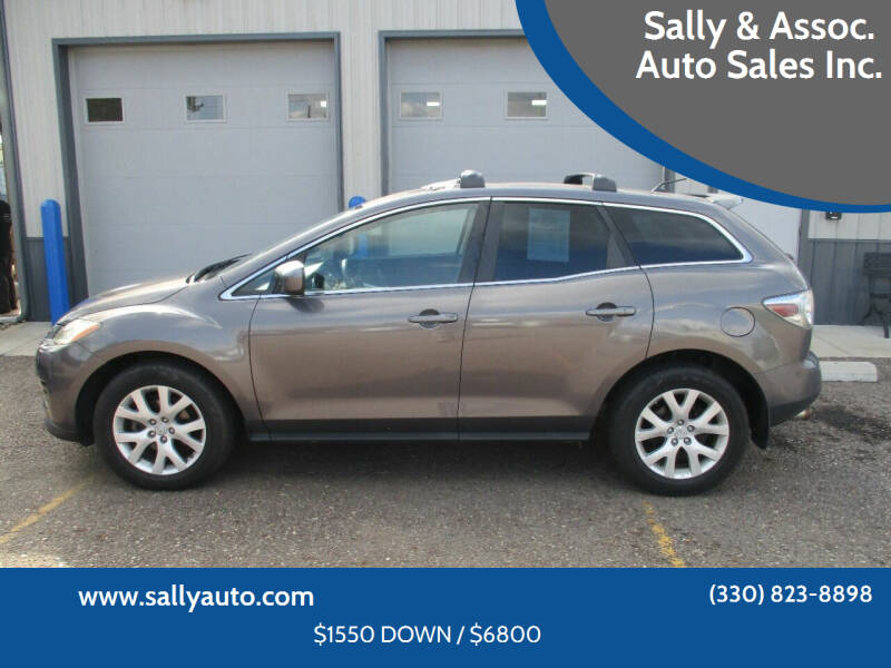 2008 Mazda CX-7 for sale at Sally & Assoc. Auto Sales Inc. in Alliance OH