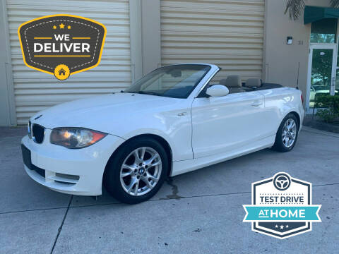 2009 BMW 1 Series for sale at AUTOSPORT MOTORS in Lake Park FL