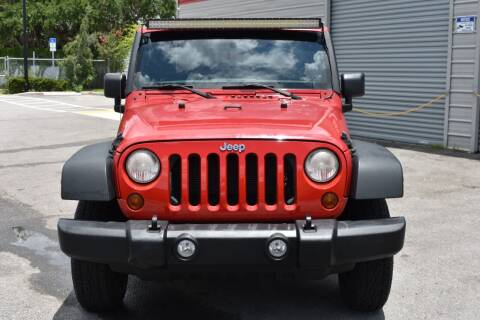 2012 Jeep Wrangler for sale at Mix Autos in Orlando FL