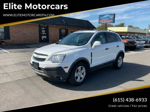2013 Chevrolet Captiva Sport for sale at Elite Motorcars in Smyrna TN