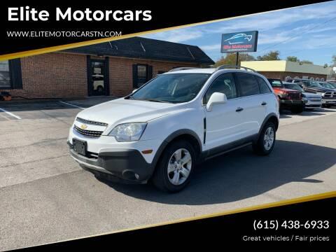 2013 Chevrolet Captiva Sport for sale at Elite Motorcars in Smyrna TN