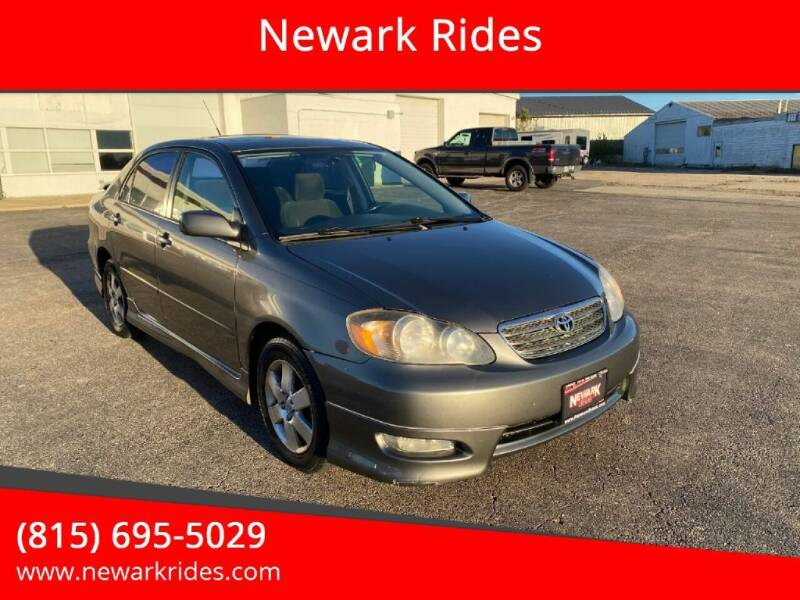 2007 Toyota Corolla for sale at Newark Rides in Newark IL