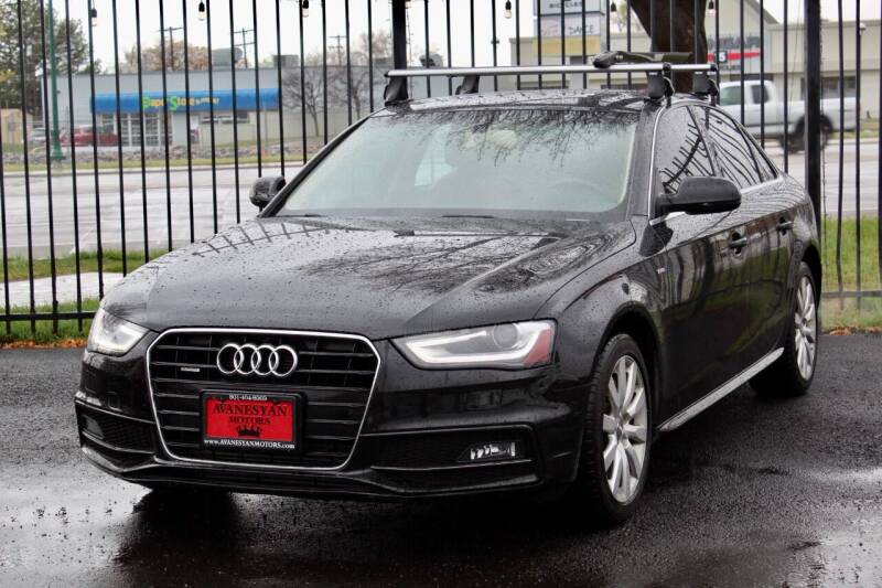 2015 Audi A4 for sale at Avanesyan Motors in Orem UT