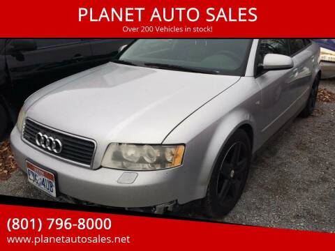 2004 Audi A4 for sale at PLANET AUTO SALES in Lindon UT