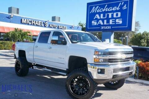 2019 Chevrolet Silverado 2500HD for sale at Michael's Auto Sales Corp in Hollywood FL