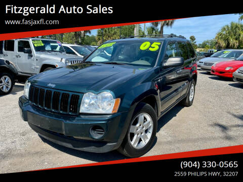 2005 Jeep Grand Cherokee for sale at Fitzgerald Auto Sales in Jacksonville FL