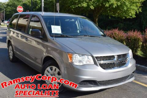 2014 Dodge Grand Caravan for sale at Ramsey Corp. in West Milford NJ