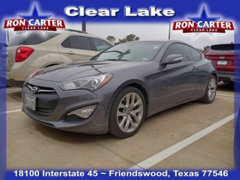 2015 Hyundai Genesis Coupe for sale at Ron Carter  Clear Lake Used Cars in Houston TX