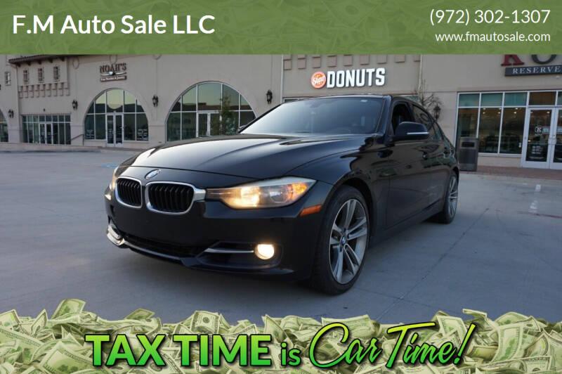 2012 BMW 3 Series for sale at F.M Auto Sale LLC in Dallas TX