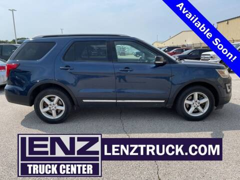 2016 Ford Explorer for sale at LENZ TRUCK CENTER in Fond Du Lac WI