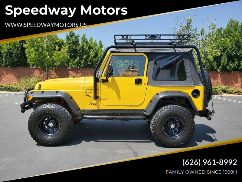 2000 Jeep Wrangler for sale at Speedway Motors in Glendora CA