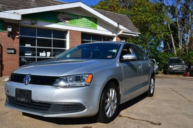 2012 Volkswagen Jetta for sale at RODRIGUEZ MOTORS LLC in Fredericksburg VA