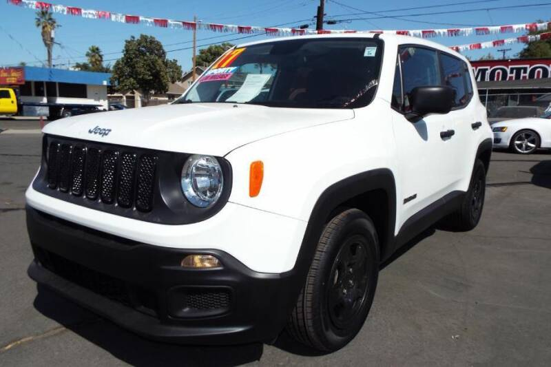 2017 Jeep Renegade for sale at 559 Motors in Fresno CA