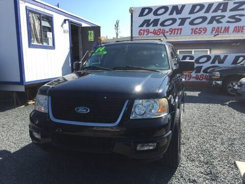 2004 Ford Expedition for sale at DON DIAZ MOTORS in San Diego CA