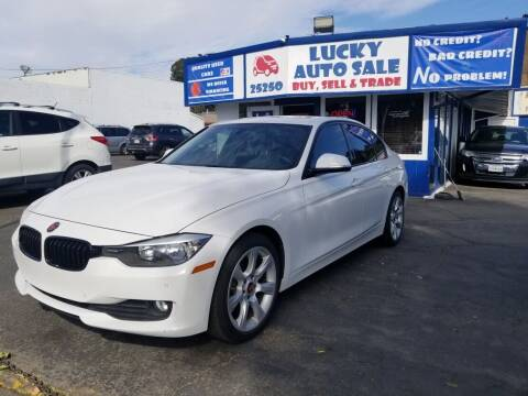 2015 BMW 3 Series for sale at Lucky Auto Sale in Hayward CA