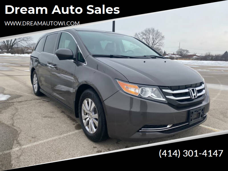 2016 Honda Odyssey for sale at Dream Auto Sales in South Milwaukee WI