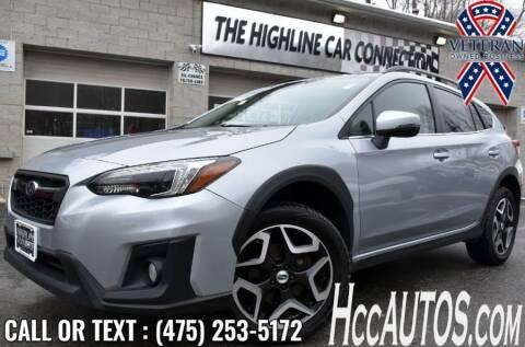 2018 Subaru Crosstrek for sale at The Highline Car Connection in Waterbury CT