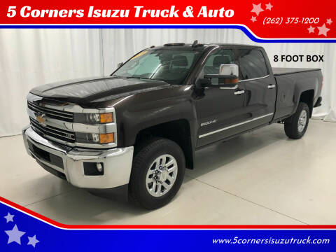 2018 Chevrolet Silverado 2500HD for sale at 5 Corners Isuzu Truck & Auto in Cedarburg WI