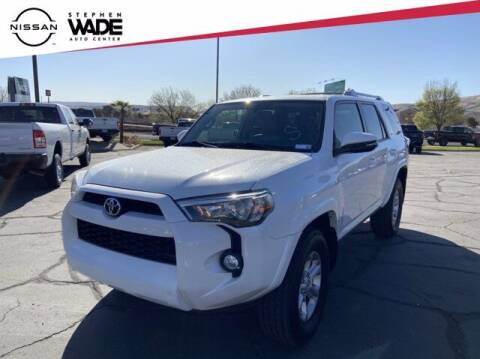2018 Toyota 4Runner for sale at Stephen Wade Pre-Owned Supercenter in Saint George UT