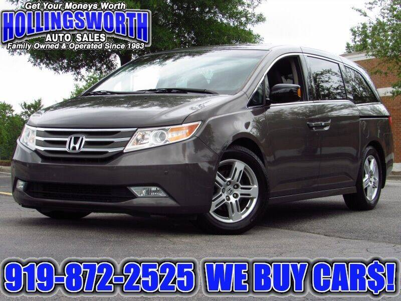 2012 Honda Odyssey for sale at Hollingsworth Auto Sales in Raleigh NC