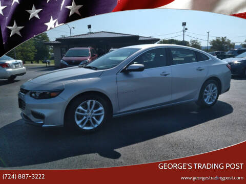 2017 Chevrolet Malibu for sale at GEORGE'S TRADING POST in Scottdale PA
