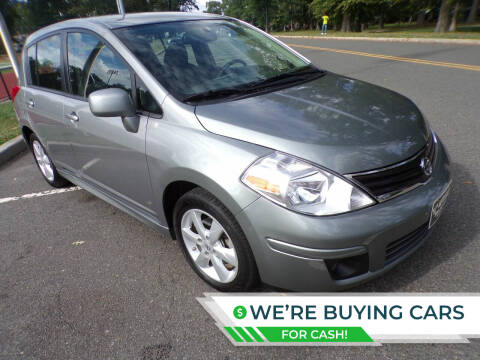 2012 Nissan Versa for sale at TJS Auto Sales Inc in Roselle NJ