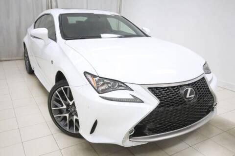 2017 Lexus RC 300 for sale at EMG AUTO SALES in Avenel NJ
