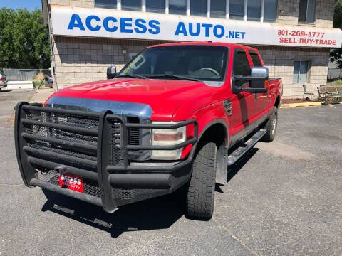 2008 Ford F-350 Super Duty for sale at Access Auto in Salt Lake City UT