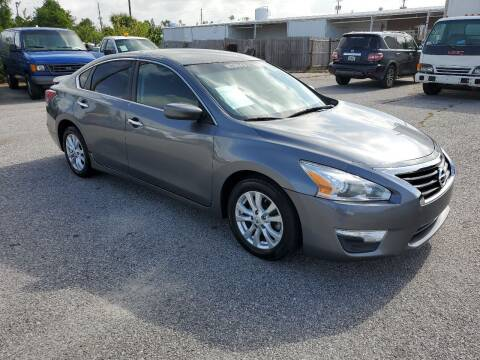 2014 Nissan Altima for sale at Jamrock Auto Sales of Panama City in Panama City FL