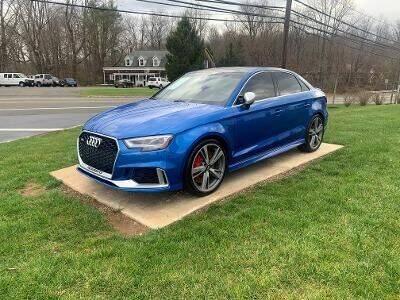2018 Audi RS 3 for sale at Shedlock Motor Cars LLC in Warren NJ