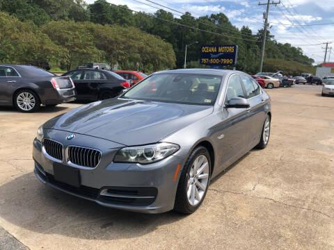 2014 BMW 5 Series for sale at Oceana Motors in Virginia Beach VA