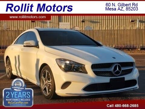 2019 Mercedes-Benz CLA for sale at Rollit Motors in Mesa AZ