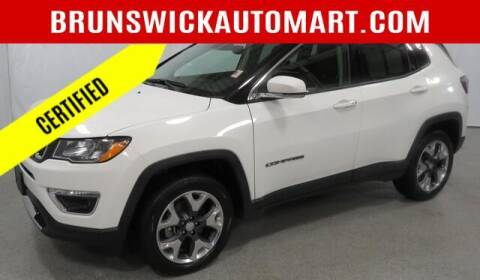 2018 Jeep Compass for sale at Brunswick Auto Mart in Brunswick OH